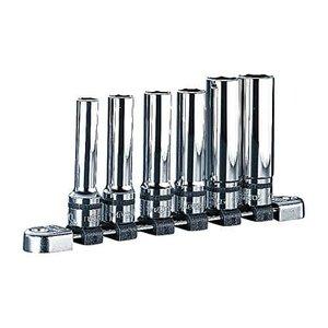 【数量限定】 KTC(ケーテーシー) ネプロス 12.7mm (1/2インチ) ディープソケット セット 6個組 NTB4L06A SEN, イワヌマシ 62b72749
