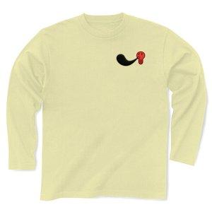 91ad577a69a3 セール ClubT(クラブT) ポンパレ立体タコ墨・影付き 長袖Tシャツ(ナチュラル)