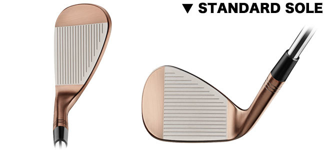 TAYLORMADE GOLF MILLED GRIND HI-TOE STANDARD VIEW