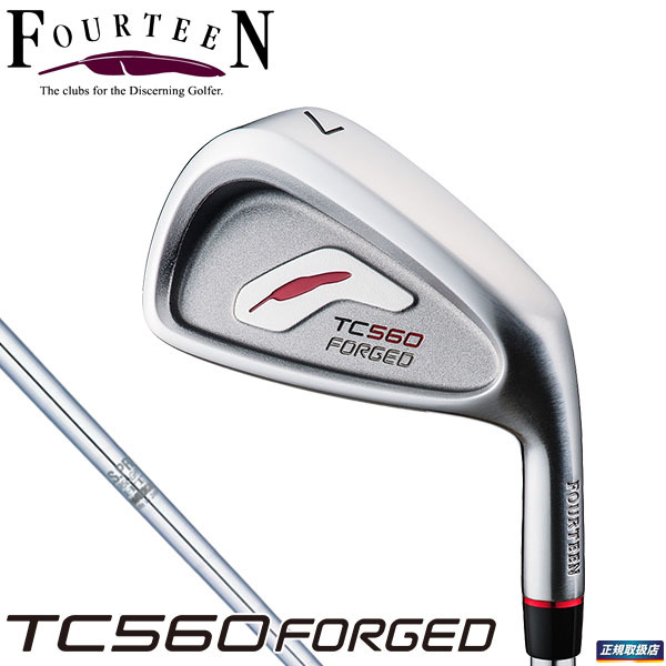 FOURTEEN GOLF TC560 FORGED iron NS950