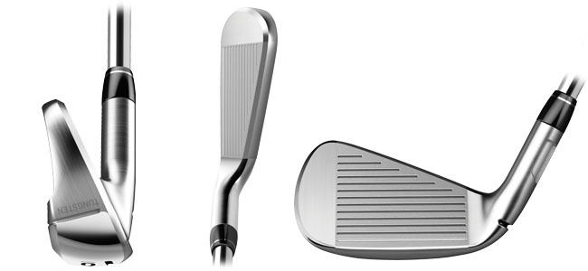 TAYLORMADE M5 IRON VIEW