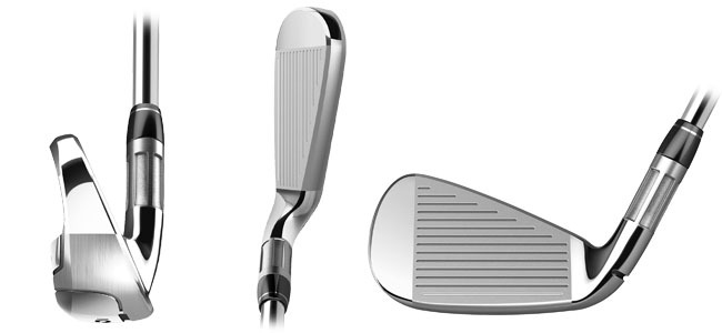 TAYLORMADE M6 IRONS VIEW