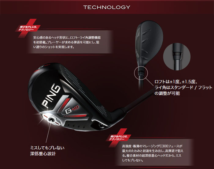 PING G410 HYBRID TECHNOLOGY