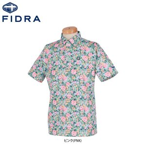 (お得な特別割引価格) フィドラ メンズ フラワープリント 半袖 ボタンダウン ボタンダウン ポロシャツ FI51TG06 ゴルフウェア メンズ [2019年春夏モデル ゴルフウェア 30%OFF] 2019 FIDRA SPRING&SUMMER, ビッグアメリカンショップ西条:d2026799 --- iplounge.minibird.jp