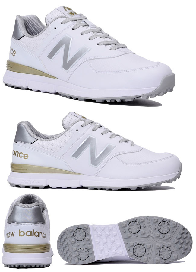 NEW BALANCE GOLF MGS574 v2 WHITE/SILVER