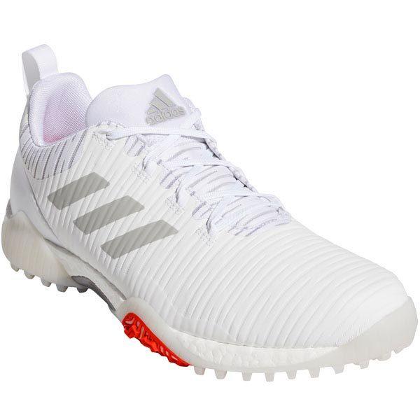 [2020年モデル] アディダス メンズ CODECHAOS コードカオス スパイクレス ゴルフシューズ EPC15 EE9102 ホワイト/メタルグレー/ライトソリッドグレー
