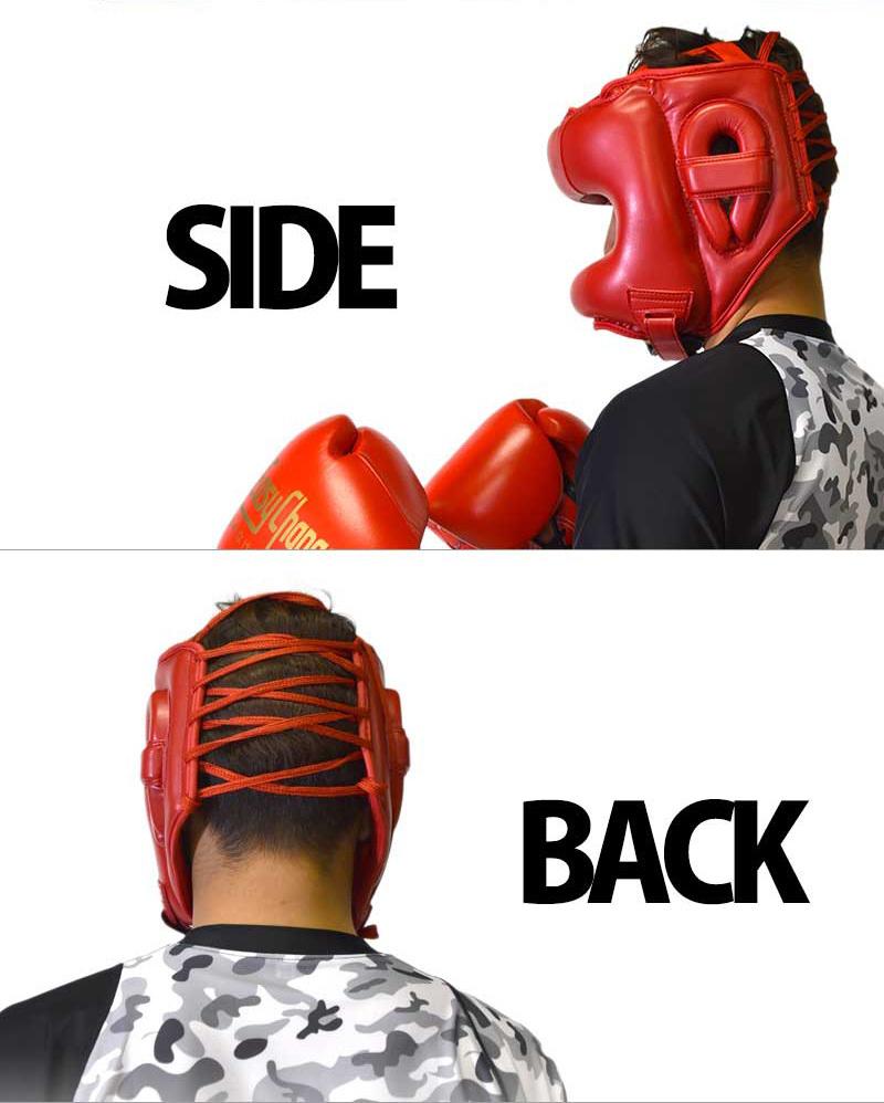 耐久性あり&鼻を負傷から保護する構造ボクシングヘッドギアがEasyChangeから登場!