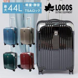 『5年保証』 キャリーケース スーツケース 360度 Mサイズ トランク ハード 静音 機内持ち込み 軽量 軽い 高品質 大容量 38L Mサイズ 1泊 2泊 HINOMOTO ダブルキャスター 360度 動きやすい TSAロック 高品質 おしゃれ LOGOS 「LOGOS」のスタイリッシュカジュアルなキャリーケース♪, ワカミマチ:750ccaec --- fukuoka-heisei.gr.jp