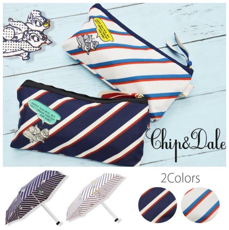 チップ&デール 折りたたみ傘