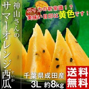 サマーオレンジ西瓜