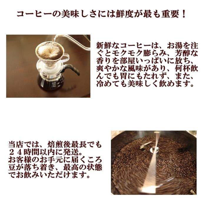 美味しいコーヒーは鮮度が命
