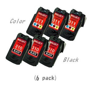 大人の上質  【現物再生!カラーは先に使用済みが必要です】キャノン BC-310(ブラック×3)+311(カラー×3) [計6個セット] [CANONリサイクルインク] PIXUS PIXUS iP2700/MP270/MP280/MP480/MP490/MP493 ◇BC-310(ブラック×3個)+BC-311(カラー×3個) [計6個セット] 《全国送料無料》 《安心保証》 (※BC-311 カラー は現物再生商品です), シクルテリア バニラバニラ:8bf036f6 --- cartblinds.com