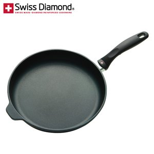 週間売れ筋 【完売しました】スイスダイヤモンド フライパン 28cm ダイヤモンドコーティング 【IH非対応】 SWD6428d JAN: 7640119210223【送料無料】, タチアライマチ c9ce1530