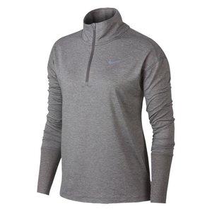 正規激安 ナイキ レディース/ウーマン Nike Element 1/2 Zip Top 長袖 Tシャツ Gun Smoke/Atmosphere Grey/Heather, オオイチョウ 625581a2