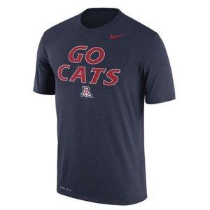 誠実 ナイキ Wildcats T-Shirt メンズ カレッジ Dri-FIT Tシャツ Arizona Wildcats Nike Legend Authentic Local Dri-FIT T-Shirt 半袖 Navy【買い付けNOW】12/12より注文順に発送開始予定 送料無料, 中野市:f555b97f --- ahead.rise-of-the-knights.de