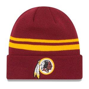 """大きな割引 ニューエラ メンズ ニット帽 """"Washington Redskins"""" New Era NFL Team Logo Cuffed Knit Hat 帽子 Burgundy, zakka来福JUNE 6d229dd0"""