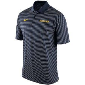 """【おトク】 ナイキ Team メンズ ポロシャツ NCAA """"Michigan ポロシャツ Wolverines"""" Nike NCAA Striped Team Performance Polo 半袖 ゴルフ ドライフィット Navy【買い付けNOW】3/12より注文順に発送開始予定 送料無料, 大垣美正堂:9fa1fbd9 --- frmksale.biz"""