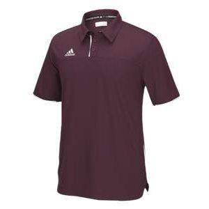 2019人気の アディダス メンズ ポロシャツ adidas Team Utility Polo ゴルフ Team adidas Polo ロゴ 半袖 Maroon/White【買い付けNOW】3/12より注文順に発送開始予定 送料無料, MESSE:1785adea --- frmksale.biz
