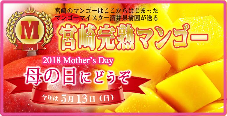 母の日にマンゴー
