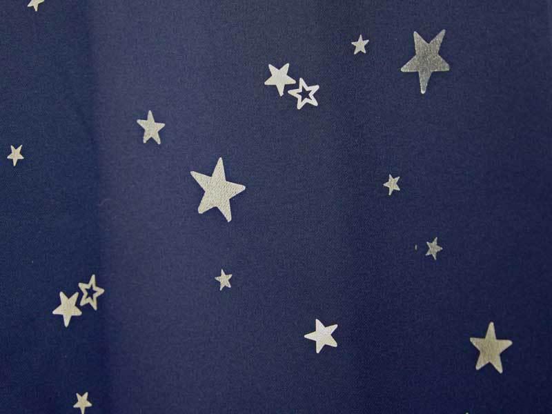 遮光カーテン プラネット 星柄