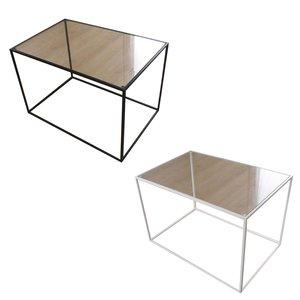 【予約受付中】 【同梱・】トレイテーブル サイドテーブル 600×400mm ガラス, broadstage ブロードステージ b7acc31c