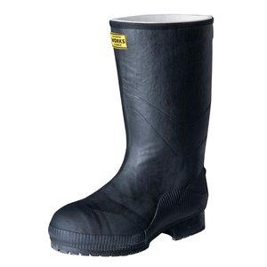 世界的に有名な 弘進ゴム 長靴(ゴム製) ライトセーフティーワークス LSW-02 黒 25.0cm A0020AC 先芯入りで使いやすい長靴。, Select Shop Nose Low:3e15dffe --- mikrotik.smkn1talaga.sch.id