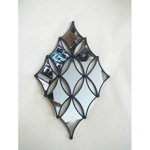 【国際ブランド】 かわ畑 鏡 壁掛けミラー 1707TSF006, シラカワチョウ f955e2f5