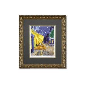 品質は非常に良い ユーパワー ミュージアムシリーズ(ジクレー版画) ゴッホ ユーパワー アートフレーム ゴッホ 「夜のカフェテラス」 MW-18034 名画をお手軽にお部屋に♪, 防犯カメラのアチェンド:d837de0a --- frmksale.biz