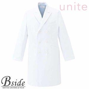 最新作 【unite】ドクターコート[男]【CHITOSE チトセ】MZ-0117(メンズ)上品さと知性を備えた端正なデザイン(メディカル 医療 介護ウエア), グググ c1220f73