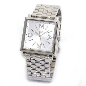 注目ブランド MARC BY MARC JACOBS マークバイマークジェイコブス レディース腕時計 ドレッシーなスクエアフェイスのレディス・ブレスウオッチ MBM3258, ヒライズミチョウ f5d2d7aa