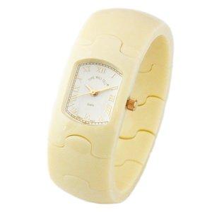 本物保証!  Time Will Tell タイムウィルテル(タイムウイルテル) 腕時計 Tell HAMPTON ハンプトンシリーズ HAMPTON モダン 腕時計&ヴィンテージ風味のバングルブレスウオッチ アイボリー HAMPTON-IV TimeWillTell タイムウィルテル レディース腕時計 HAMPTONS, R&Mインテリアストア:5f49d304 --- mashyaneh.org