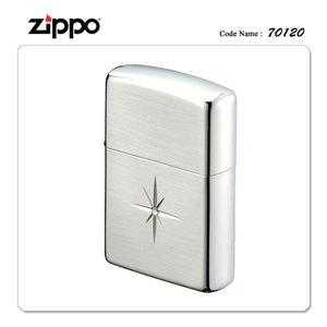 ZIPPO ジッポー ジッポライター 70120 シャイニークロス L シルバーヘアライン 【ギフト/プレゼント/喫煙具】