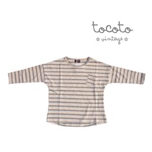 98cbd593ebcba Tシャツ 長袖 tocoto vintage (トコトヴィン...|子供服 arbre ポンパレ ...