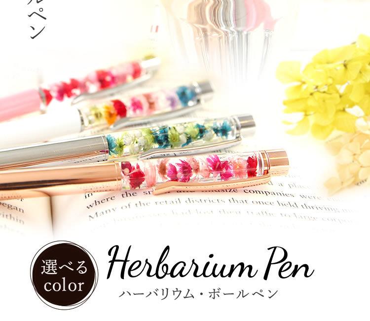 ハーバリウムボールペン メイン2&商品名