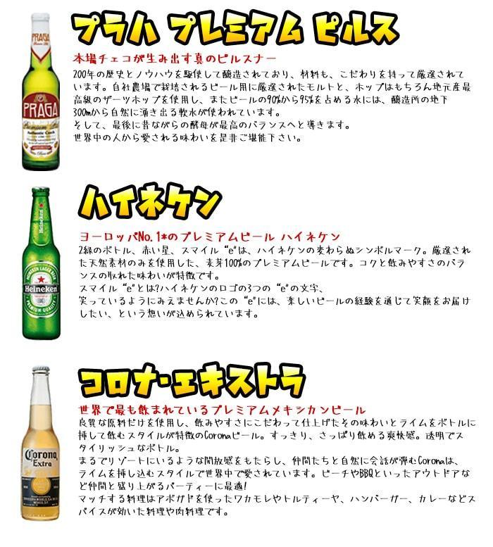 海外ビール飲み比べ6本セットA