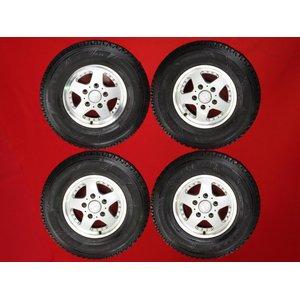 新品同様 《16インチ》 スタッドレスタイヤ(ホイール付き)4本セット[ホイール]【 《16インチ》】-CV928[タイヤ]【】ブリヂストンブリザックDM・Z3 スタッドレス [sw4] W51502111 W051502111 275/70R16 冬タイヤ スノータイヤ, しらすの八幡:04e37ab8 --- blog.buypower.ng