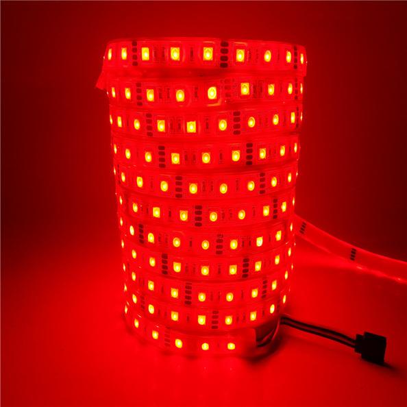 LEDテープライトの防水テスト