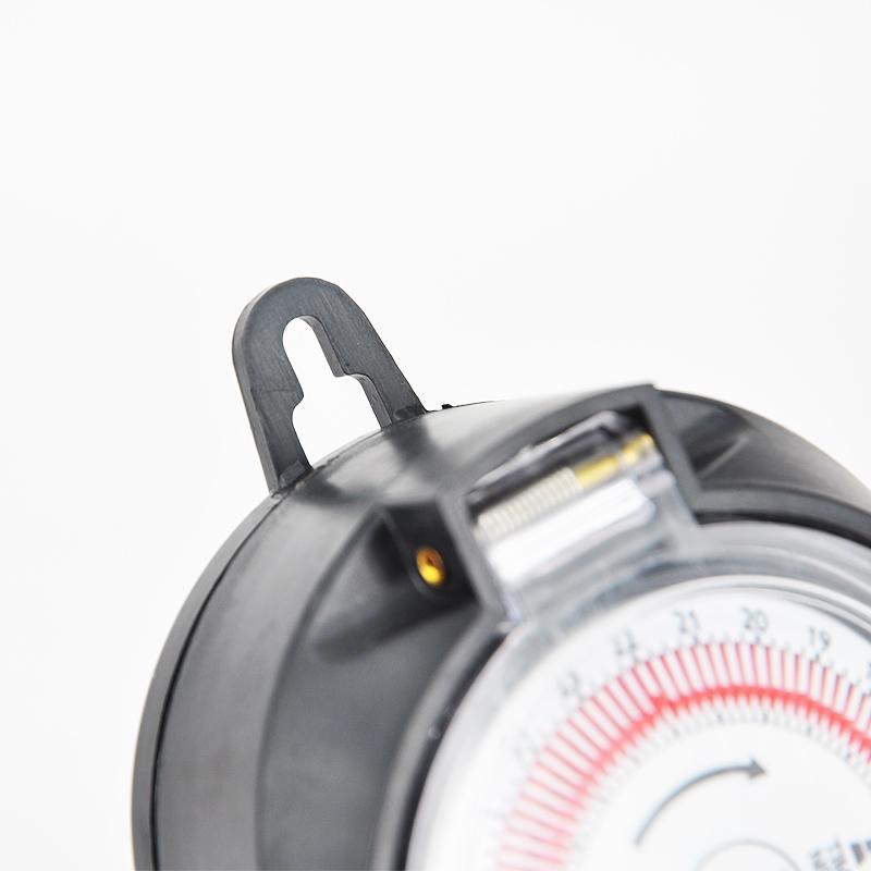 タイマー コンセント 屋外用 防雨 防水 24時間 キャップ付