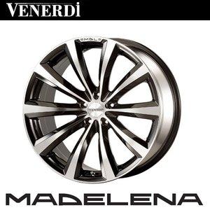 無料配達 COSMIC VENERDI MADELENA/ヴェネルディ マデリーナ 16×6.5J+53 VENERDI 16×6.5J+53 4H-100 ホイール4本セット 4H-100 ブラックポリッシュ /, フラッチ:aeec59d5 --- deutscher-offizier-verein.de