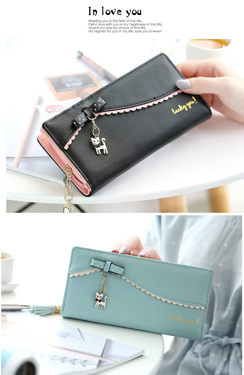 かわいい 長財布