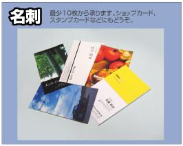 名刺印刷デザイン例
