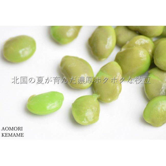 イカメンチ 枝豆