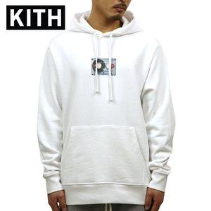 最新 キス パーカー メンズ 正規品 KITH プルオーバーパーカー KITH CASSETTE HOODIE KH2270-101 WHITE, jevis e98affd4