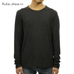 ヌーディージーンズ Nudie Jeans 正規販売店 メンズ 長袖Tシャツ Otto Raglan Black/Grey 131390
