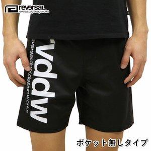 リバーサル REVERSAL 正規販売店 メンズ ショートパンツ NEW rvddw SHORTS BASIC BLACK