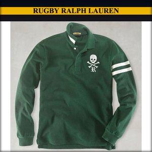 おすすめネット ラルフローレンラグビー 正規品 RUGBY ポロシャツ RALPH メンズ LAUREN 正規品 メンズ 長袖スカル ポロシャツ グリーン 送料無料 A07B B1C C1D D3E E08F, クノヘグン:b32db24f --- pyme.pe