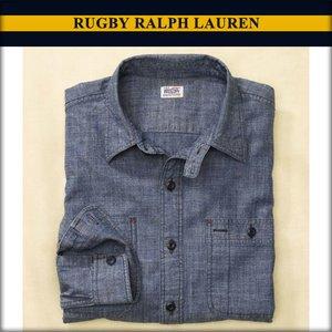 正規 ラルフローレンラグビー RUGBY RUGBY RALPH LAUREN 正規品 メンズ メンズ 長袖シャツ LAUREN Chambray Farrell Shirt ネイビー 送料無料 A07B B1C C1D D6E E06F, TOAN WELD:aada11e0 --- ancestralgrill.eu.org