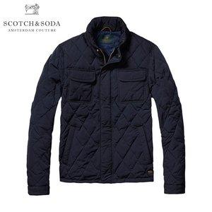 好評 スコッチアンドソーダ アウター メンズ 正規販売店 SCOTCH&SODA ジャケット ジャケット Light padded quilted jacket in peached nylon quality 101365 02, アンジェリーク Angelique 106c7374