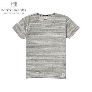 スコッチアンドソーダ SCOTCH&SODA 正規販売店 メンズ 半袖Tシャツ Home Alone short sleeve tee 128130 970