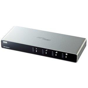 【正規取扱店】 4台のパソコンを切替共有できる パソコン自動切替器(4:1) サンワサプライ SW-KVM4LUN, プレゼントウォーカー a083f55a